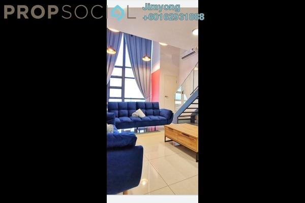 Duplex For Rent in EkoCheras, Cheras Freehold Fully Furnished 1R/2B 2.3k