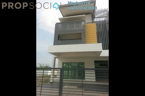 Terrace For Rent in Nadayu 92, Kajang Freehold Semi Furnished 5R/4B 1.8k