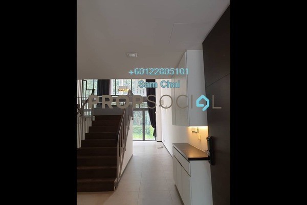 Superlink For Rent in The Mansions, Desa ParkCity Freehold Semi Furnished 4R/4B 12.8k