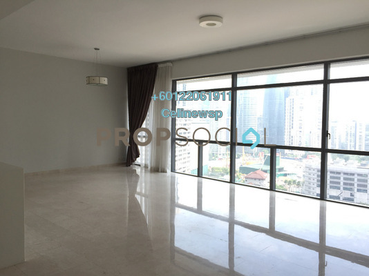 Condominium For Rent in Panorama, KLCC Freehold Semi Furnished 3R/3B 7k