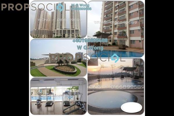 Condominium For Sale in Plaza Medan Putra, Bandar Menjalara Freehold Fully Furnished 3R/2B 355k