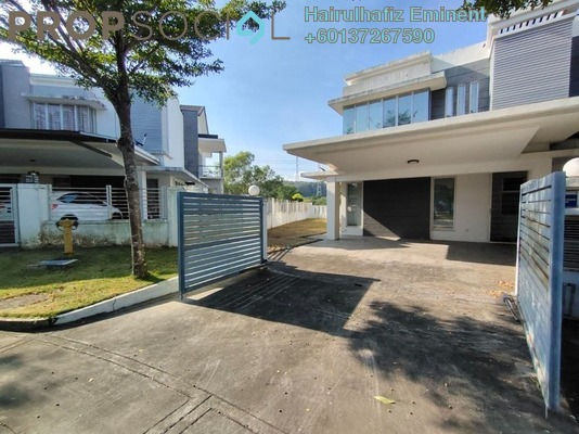 Terrace For Sale in Sephira, Alam Impian Freehold Semi Furnished 4R/5B 1.05m