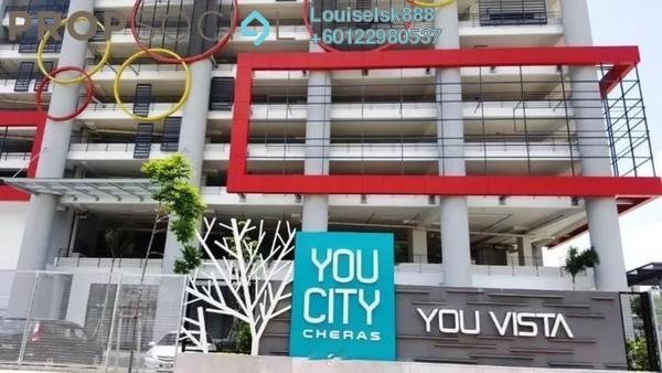 Condominium For Sale in You Vista @ You City, Batu 9 Cheras Freehold Semi Furnished 3R/2B 468k