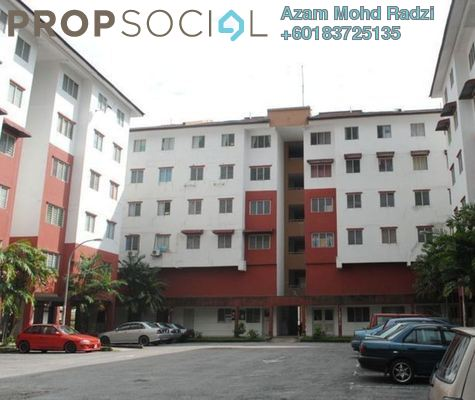 Apartment For Sale in Taman Sri Bahagia, Cheras South Freehold Semi Furnished 3R/2B 138k
