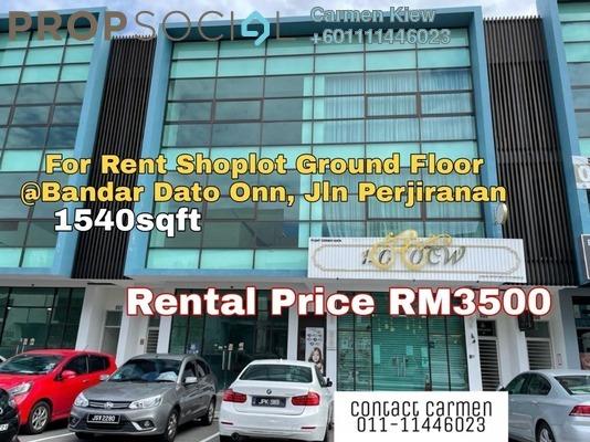 Shop For Rent in Gardenia, Bandar Dato' Onn Freehold Semi Furnished 0R/0B 3.5k