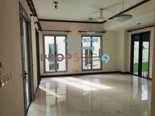Townhouse For Rent in Sri Bukit Persekutuan, Bangsar Freehold Semi Furnished 4R/5B 7.5k