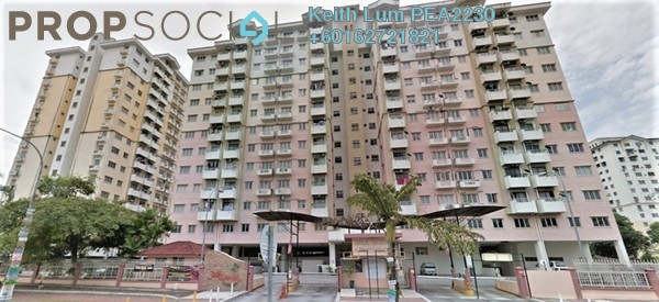 Condominium For Rent in Jalil Damai, Bukit Jalil Freehold Fully Furnished 3R/2B 1.3k