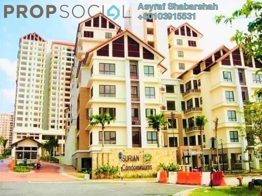 Condominium For Sale in Surian Condominiums, Mutiara Damansara Freehold Semi Furnished 5R/4B 1.2m