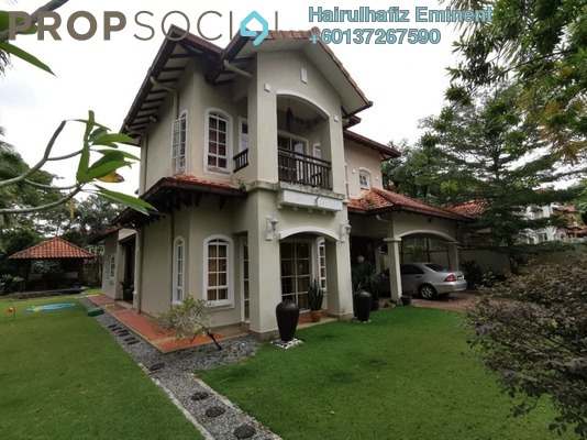 Bungalow For Sale in Bidai Residence, Bukit Jelutong Freehold Semi Furnished 6R/6B 2.6m