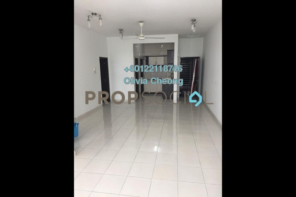 Apartment For Rent in Casa Tiara, Subang Jaya Freehold Semi Furnished 3R/2B 1.7k