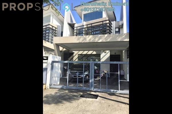 Terrace For Sale in Laman Glenmarie, Saujana Freehold Unfurnished 4R/4B 950k