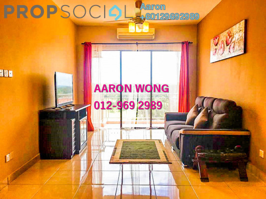 Condominium For Rent in Casa Indah 1, Tropicana Freehold Fully Furnished 3R/2B 2.3k