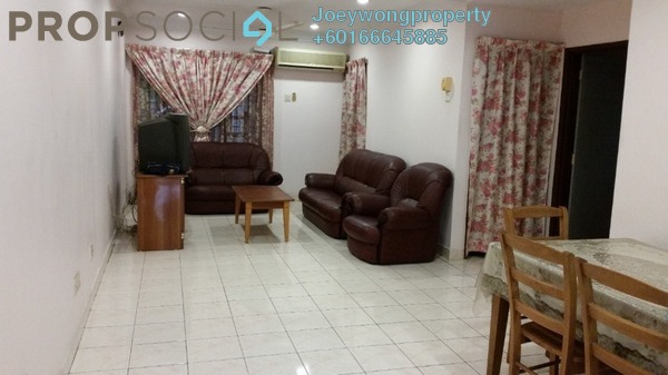 Townhouse For Rent in Avant Court, Old Klang Road Freehold Semi Furnished 3R/2B 1.3k