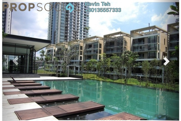 Townhouse For Rent in One Menerung, Bangsar Freehold Semi Furnished 6R/7B 25k