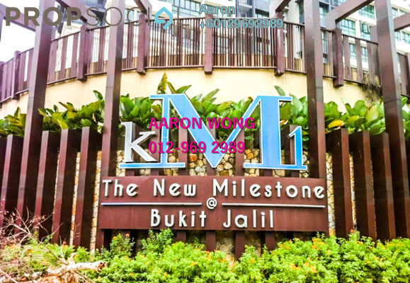 Condominium For Sale in KM1, Bukit Jalil Freehold Fully Furnished 3R/3B 1.05m