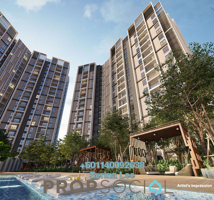 Apartment For Sale in Mutiara Puchong, Puchong Freehold Fully Furnished 3R/2B 400k