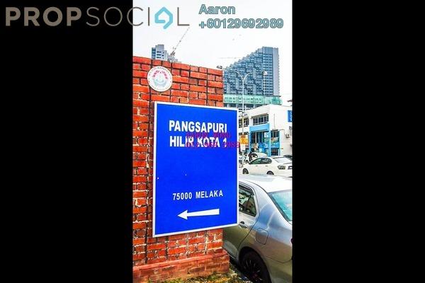 Apartment For Sale in Taman Hilir Kota 1, Bandar Melaka Freehold Fully Furnished 3R/2B 215k
