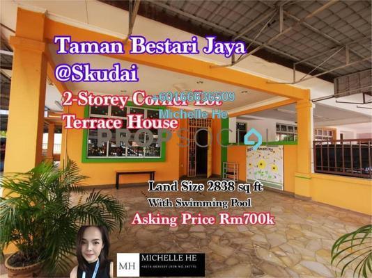 Terrace For Sale in Taman Nusa Bestari 1, Iskandar Puteri (Nusajaya) Freehold Semi Furnished 4R/3B 700k