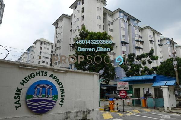 Apartment For Rent in Tasik Heights Apartment, Bandar Tasik Selatan Freehold Unfurnished 3R/2B 1.1k