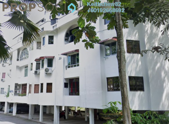 Condominium For Rent in Lakeville Residence, Jalan Ipoh Freehold Unfurnished 4R/2B 2.5k