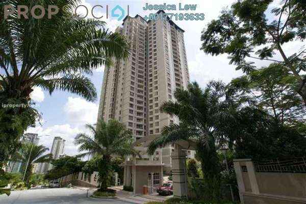Condominium For Rent in Kiaramas Cendana, Mont Kiara Freehold Fully Furnished 3R/2B 4k