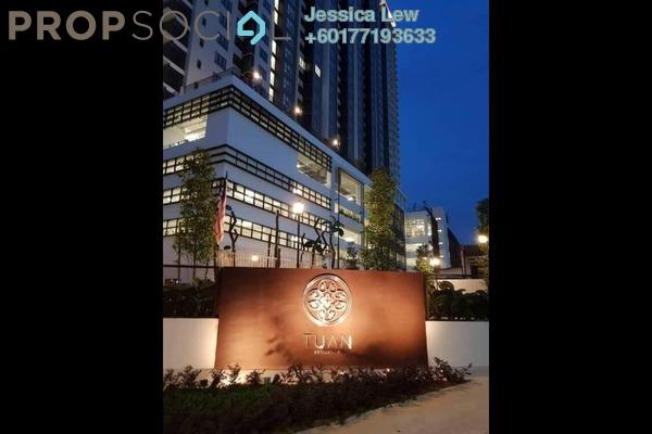 Condominium For Rent in Tuan Residency, Jalan Kuching Freehold Unfurnished 3R/2B 1.3k