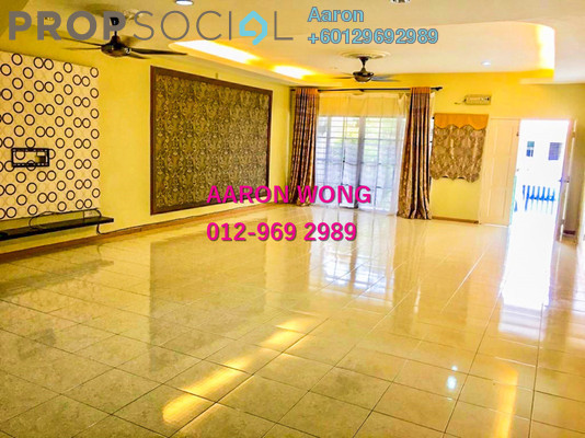 Terrace For Sale in Bandar Nusaputra, Puchong Freehold Semi Furnished 4R/3B 550k