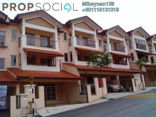 Townhouse For Rent in Amansiara, Selayang Freehold Semi Furnished 3R/2B 1k