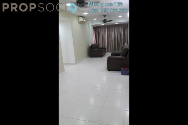 Condominium For Rent in 1 Petaling, Sungai Besi Freehold Semi Furnished 3R/2B 1.1k