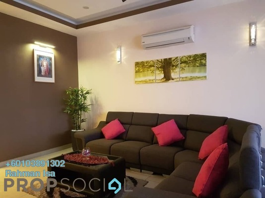 Terrace For Sale in Viola, Alam Impian Freehold Semi Furnished 4R/4B 990k