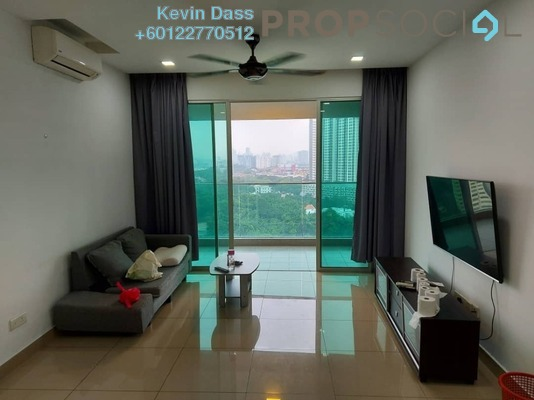 Condominium For Rent in Kiara Residence 2, Bukit Jalil Freehold Fully Furnished 4R/3B 2.25k