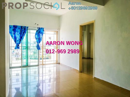 Condominium For Sale in Kepong Sentral Condominium, Sungai Buloh Freehold Semi Furnished 3R/2B 298k