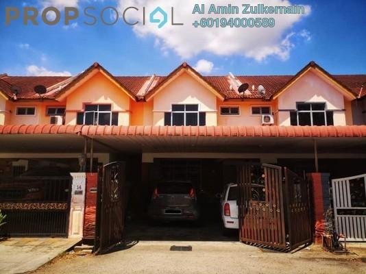 Terrace For Sale in Bandar Putra Bertam, Penang Freehold Unfurnished 4R/3B 390k