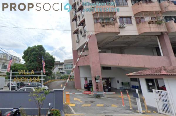 Condominium For Rent in Villa Angkasa, Sentul Freehold Fully Furnished 3R/2B 1.2k