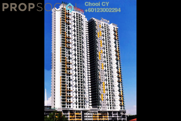 Condominium For Rent in Parkhill Residence, Bukit Jalil Freehold Fully Furnished 3R/2B 2.2k