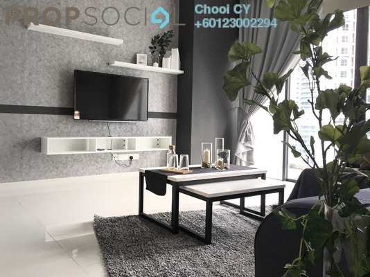 Condominium For Rent in Mirage Residence, KLCC Freehold Semi Furnished 3R/4B 3.5k