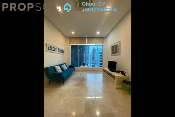 Serviced Residence For Rent in Soho Suites, KLCC Freehold Fully Furnished 2R/1B 2.2k