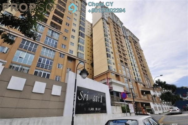 Condominium For Rent in Sri Jati II, Old Klang Road Freehold Fully Furnished 3R/2B 1.5k