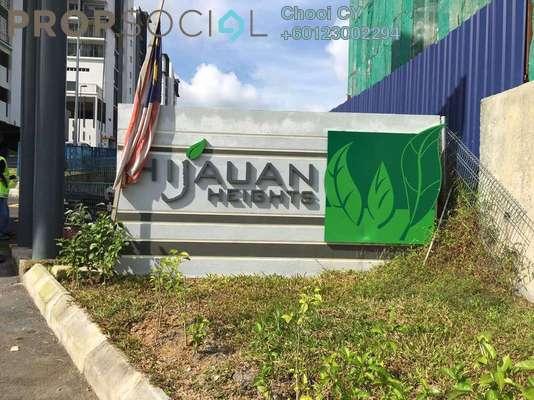 Condominium For Rent in Hijauan Heights, Kajang Freehold Semi Furnished 3R/2B 1.1k