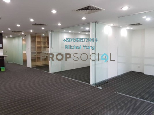 Office For Rent in Wisma UOA II, KLCC Freehold Semi Furnished 4R/2B 4.83k