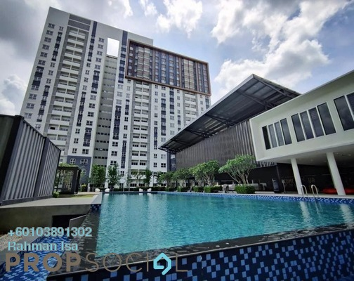 Apartment For Rent in Aman 1, Tropicana Aman Freehold Semi Furnished 3R/2B 1.3k