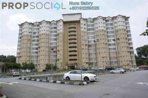 Apartment For Rent in Merak Apartment, Bandar Kinrara Freehold Unfurnished 3R/2B 1k