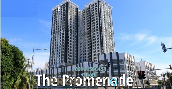 Condominium For Rent in Promenade Residence, Bayan Baru Freehold Fully Furnished 3R/2B 1k