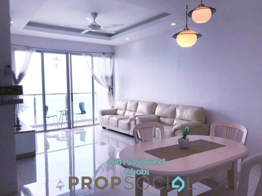 Condominium For Rent in Island Resort, Batu Ferringhi Freehold Fully Furnished 3R/2B 2.2k