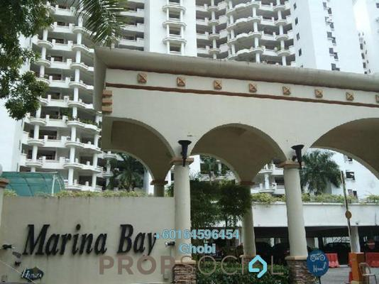 Condominium For Rent in Marina Bay, Tanjung Tokong Freehold Fully Furnished 3R/3B 3k