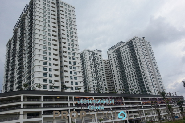 Condominium For Rent in The Golden Triangle, Relau Freehold Unfurnished 3R/2B 1.3k