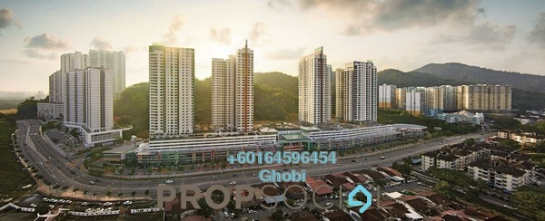 Condominium For Rent in All Seasons Park, Farlim Freehold Fully Furnished 4R/4B 1.9k
