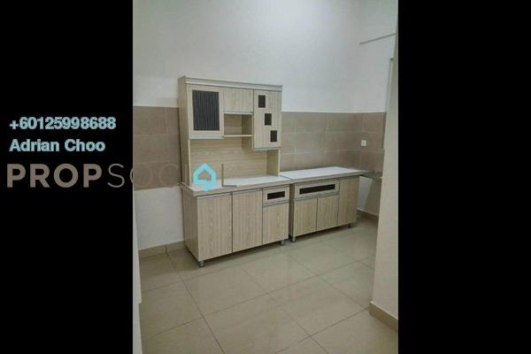 Condominium For Rent in Gardens Ville, Sungai Ara Freehold Semi Furnished 3R/2B 1.1k