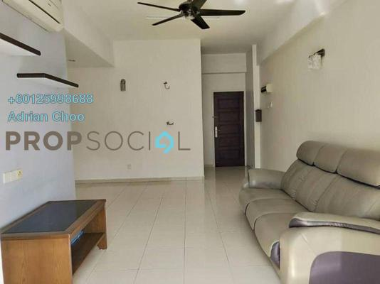 Condominium For Rent in Idaman Iris, Sungai Ara Freehold Semi Furnished 3R/2B 1.3k