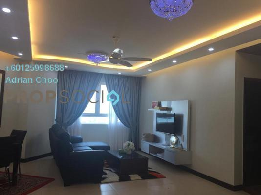 Condominium For Rent in Pearl Regency, Gelugor Freehold Fully Furnished 4R/2B 2.5k